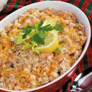 Salmon Rice Puff Recipe