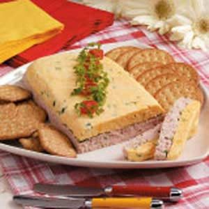 Layered Cheese Spread Recipe