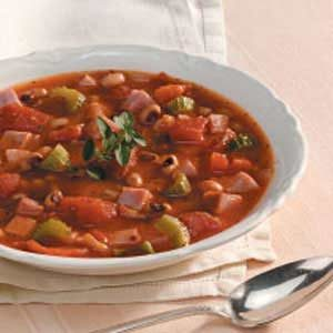 Home-Style Black-Eyed Pea Soup Recipe