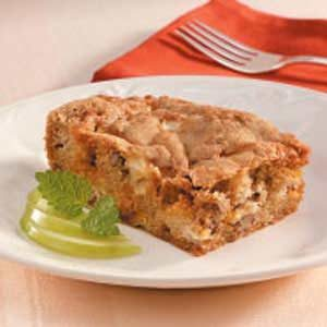 Apple Butterscotch Cake Recipe