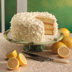 Triple-Layer Lemon Cake Recipe