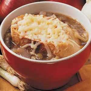 Four-Onion Soup Recipe