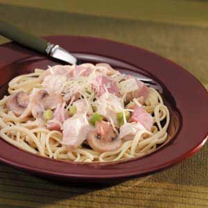Turkey Cordon Bleu Pasta Recipe