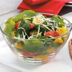 Balsamic Asiago Salad Recipe