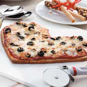 Be-My-Valentine Pizza Recipe