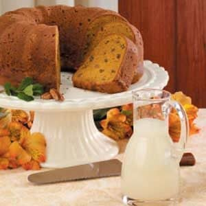 Moist Pumpkin Pound Cake