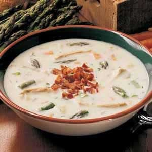 Asparagus Chicken Chowder