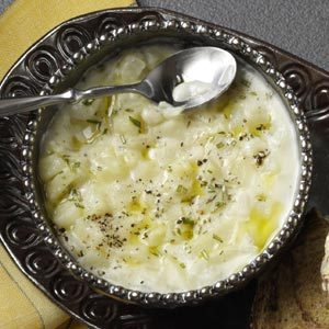 Herbed Potato Soup
