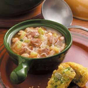 Spicy Pork Chili with White Beans Recipe