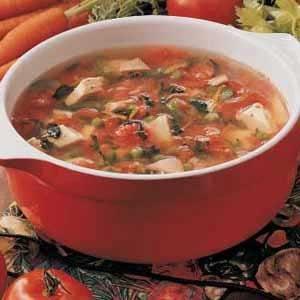 Harvest Turkey Soup Recipe