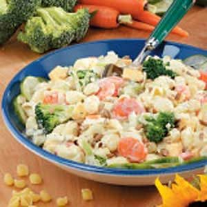 Creamy Shell Pasta Salad Recipe