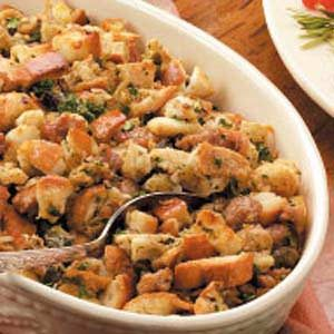 Oyster Sausage Stuffing Recipe