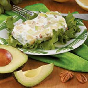 Frozen Grapefruit-Avocado Salad Recipe