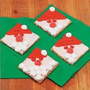 Graham Cracker Santas Recipe