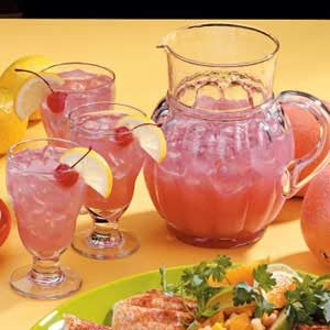 Pink Grapefruit Punch Recipe
