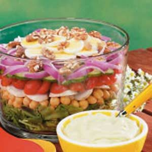Hearty Layer Salad Recipe