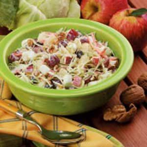 Cabbage Waldorf Salad Recipe