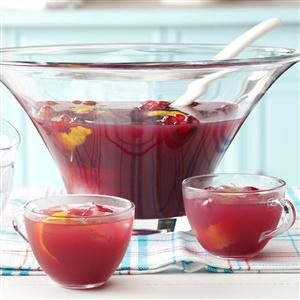 Cranberry Fruit Punch Recipe