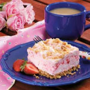 Frozen Strawberry Dessert Recipe