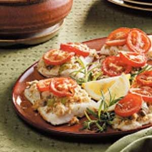 Oven Baked Haddock Recipe photo by Taste of Home