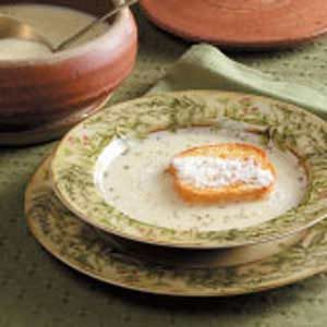 Creamy Garlic Soup Recipe