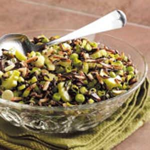 Nutty Wild Rice Salad Recipe
