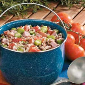 Black-Eyed Pea Jambalaya Recipe