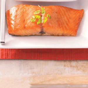 Easy Glazed Salmon Recipe