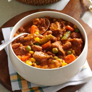 Zesty Beef Stew Recipe