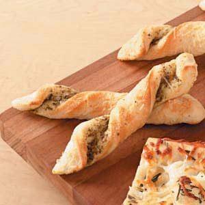 Pesto Breadsticks Recipe
