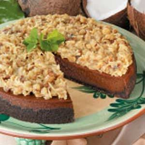 German Chocolate Cake Cheesecake Recipe