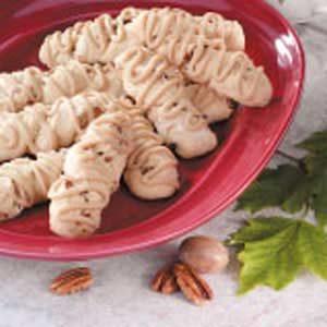 Maple Pecan Twists Recipe