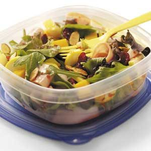 Yellow Squash Turkey Salad Recipe