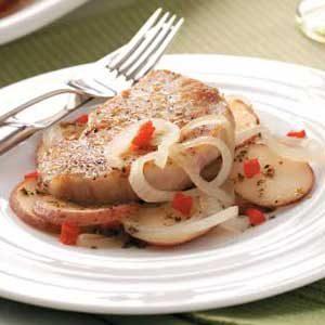Potato and Pork Skillet Recipe