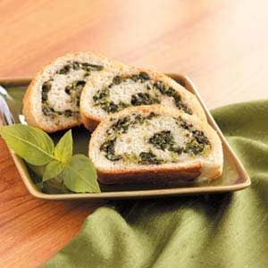 Spinach Spirals Recipe