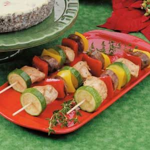 Yuletide Brochettes Recipe