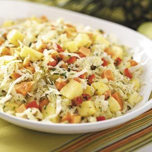 Pineapple-Papaya Slaw Recipe