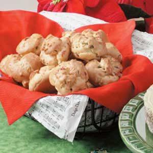 Fa-La-La Prosciutto Puffs Recipe