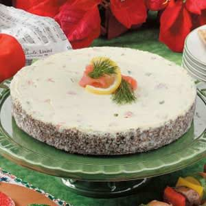 Noel Salmon Cheesecake