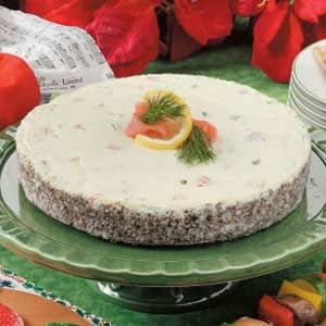 Noel Salmon Cheesecake Recipe
