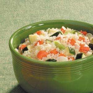 Zucchini Carrrot Couscous Recipe
