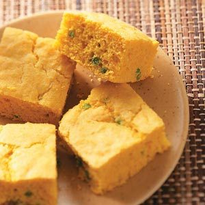 Moist Jalapeno Corn Bread