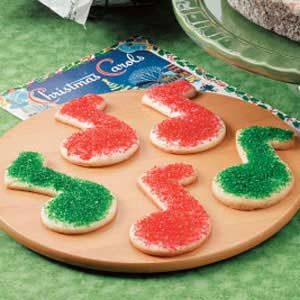 Merry Note Cookies Recipe
