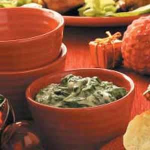 Classic Creamed Spinach Recipe