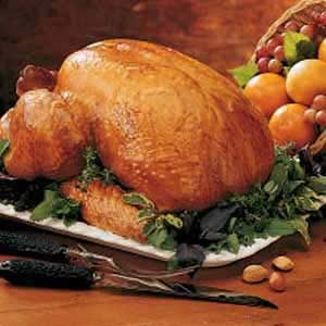 Turkey with Orange-Honey Glaze Recipe