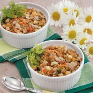 Clam Stuffing Bake Recipe