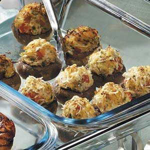Crab-Stuffed Mushrooms Recipe