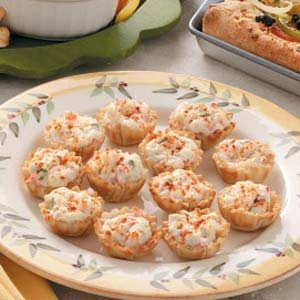 Phyllo Crab Cups Recipe