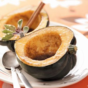 Maple-Glazed Acorn Squash Recipe