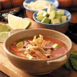 Sopa de Tortilla Recipe